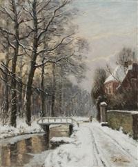 winterspaziergang by anton karssen