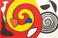 spirals and forms by alexander calder
