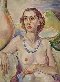 portrait of the artist's wife by e.e. cummings