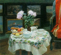 the tea table by max nathan