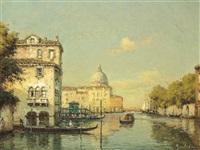 a venetian canal by noel georges bouvard