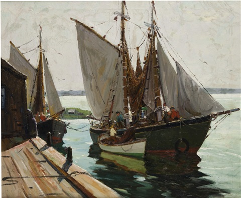 nets and sail by anthony thieme