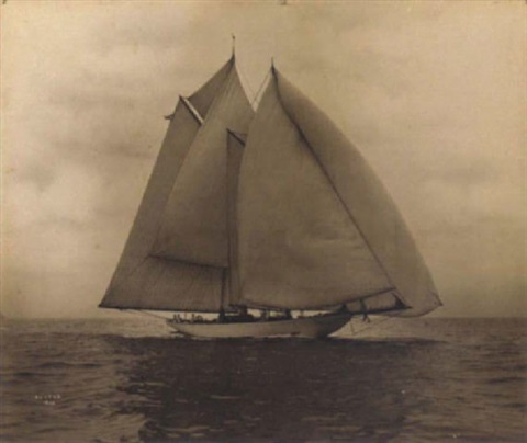agatha sailing downwind by willard bramwell jackson