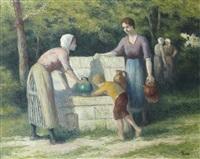 femmes au puits by maximilien luce