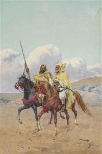 a discussion in the desert by giulio rosati