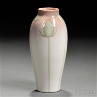 iris glaze vase by rookwood pottery