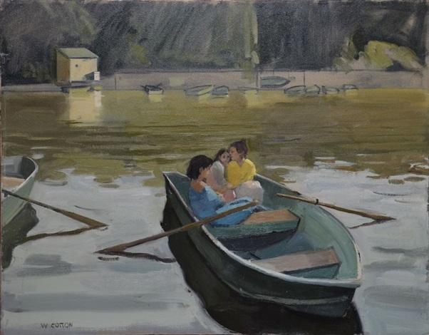 promeneurs en barque by will cotton