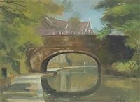 canal at regent's park, london by niccolo d'ardia caracciolo