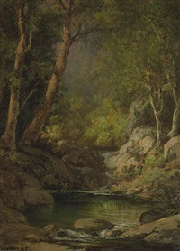 mountain stream by william franklin jackson