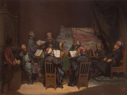 the scholars debate by a de monés