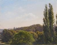 vue présumée du parc de rosenborg (by kiersken) by danish school (19)