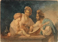 a neapolitan family by ernst meyer