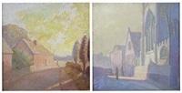 near coventry (+ september morning; 2 works) by john henry norman