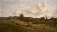 paysage by giuseppe abbati