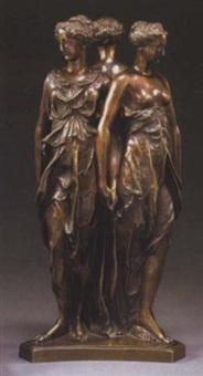 monument funéraire du coeur de henri ii (les trois grâces) by germain pilon