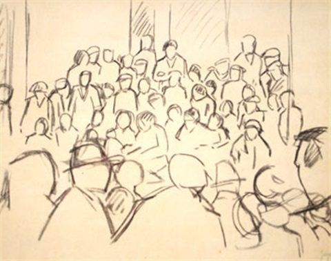 foule by maurice le scouezec