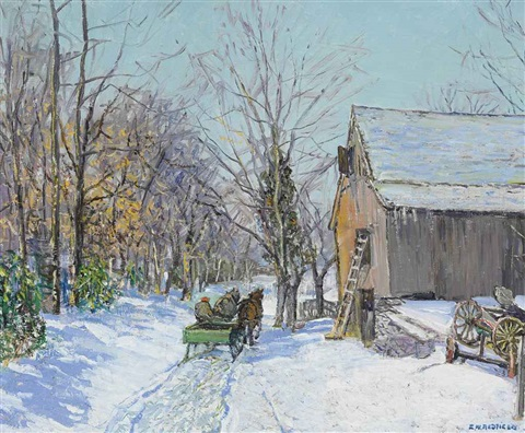 february by edward willis redfield