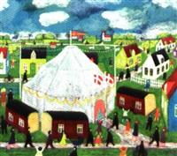 cirkus i lilleby by knud erik færgemann