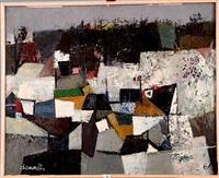 falaises - tancarville by jean marcel dannet