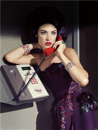 extravagant, sophisticated lady #12 by miles aldridge