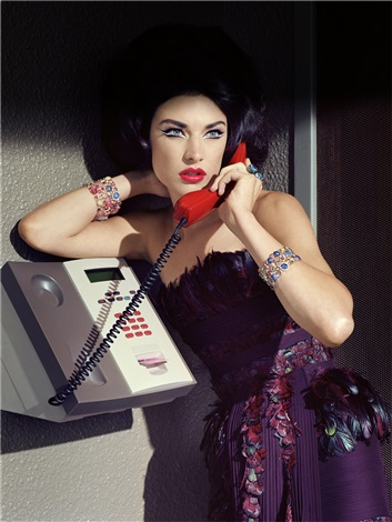extravagant sophisticated lady 12 by miles aldridge