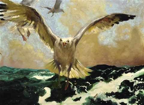 the warning by jamie wyeth