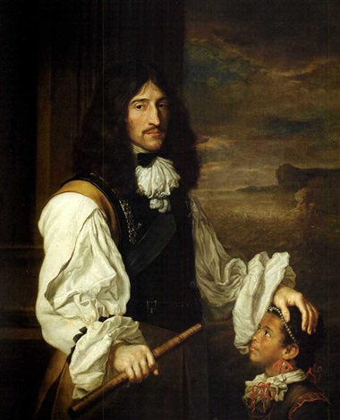 portrait of prince rupert of the rhine by french school 17