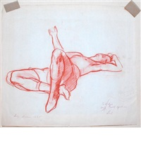 reclining figure by luigi lucioni