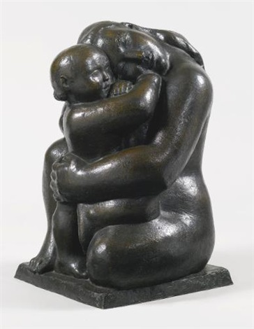 devotion (mother and child) by william zorach