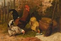 poules by arthur batt