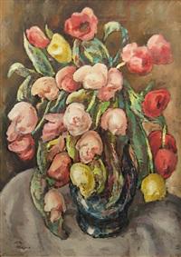 tulips by traian cornescu