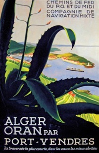 alger, oran par port-vendres by a. roquin