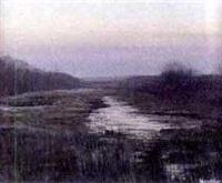 sunset by robert hamblen