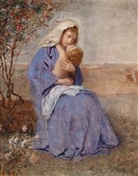 mutter mit ihrem kind by john quincy adams