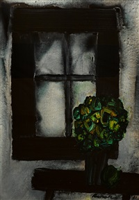 still life by stanislaus ivan rapotec