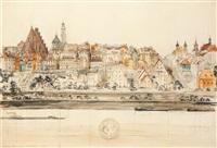 panorama warszawy by henryk dabrowski