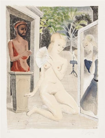 eventail by paul delvaux
