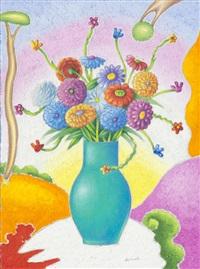 vaso di fiori by luca alinari
