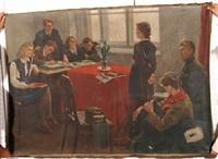 acceptance into the komsomol by victor ivanovich litvinov