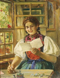 the love letter by carl kricheldorf