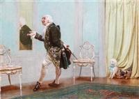 the dandy by john charles dollman