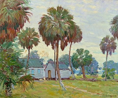 florida scene by william chadwick