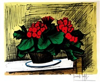 pot de fleurs by bernard buffet