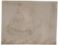 A Ship's Portrait of a Dutch Merchantman