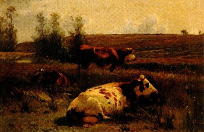 vaches by léon barillot