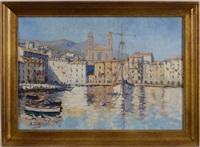 le port de bastia by arthur gangand