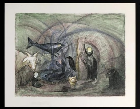 crow soup by leonora carrington