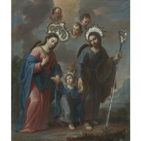 la sagrada familia by miguel cabrera