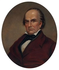 portrait of daniel webster by frank haseltine