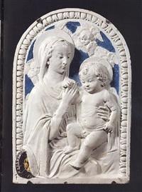 madonna col bambino by benedetto buglioni
